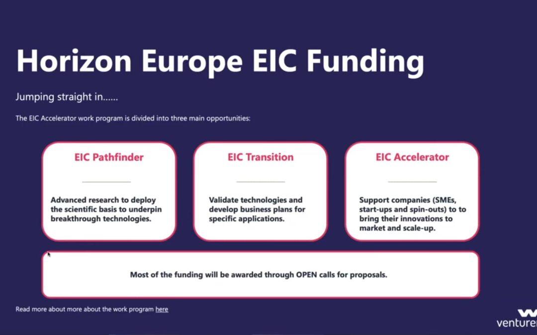 Can UK companies still access EIC Accelerator EU grant funding?